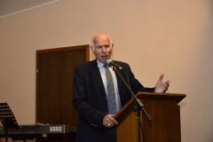 der stellvertretende Vorsitzende des Sängerkreises Hochtaunus, Walter Krimmel