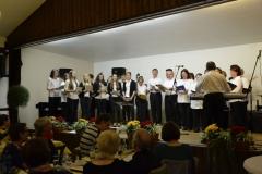 Projektchor mit Günter Werner und Band