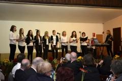 Projektchor-Auswahl  mit Günter Werner und Band