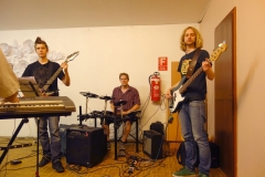 Rockchor mit Günter Werner und Band